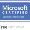 Microsoft Certified Solutions Developer MCSD For 2019 Udemy