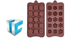 SelfCAD – 3D Modeling & 3D printing Chocolate Molds Palette.
